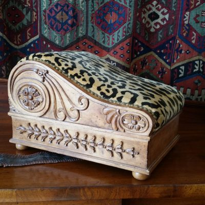 Greek revival footstool c. 1820