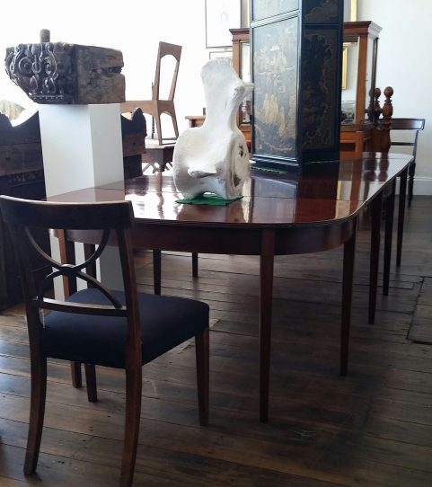 24 seater Regency period dining table