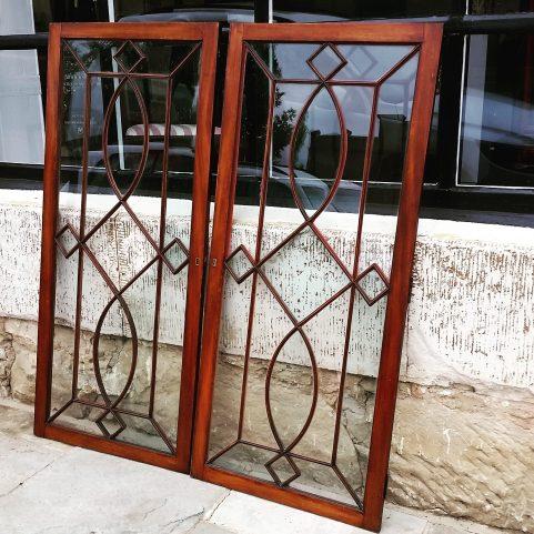 Regency mahogany  doors c.1800