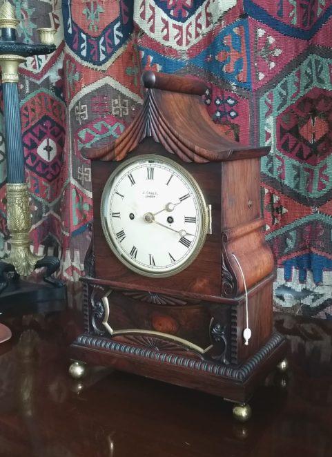 Pagoda top Regency period bracket clock