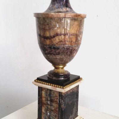Blue John Ormolu Mounted Vase C 1800 Warwick Oakman
