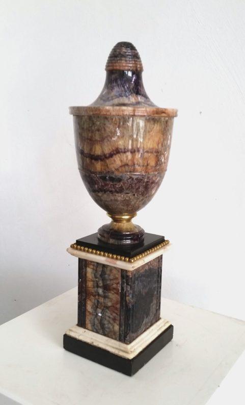 Blue John ormolu mounted vase c 1800