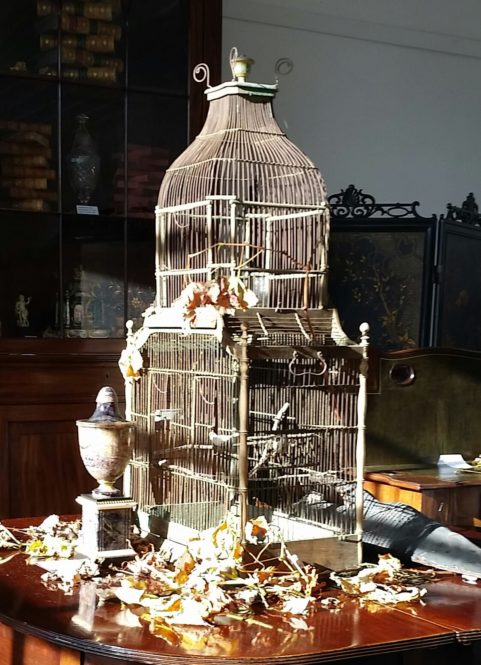 Early Victorian period birdcage c 1840