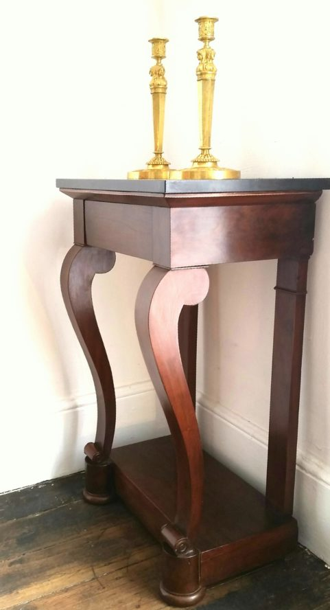 French console table c 1830