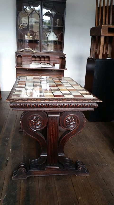 Grand Tour marbles table c 1830