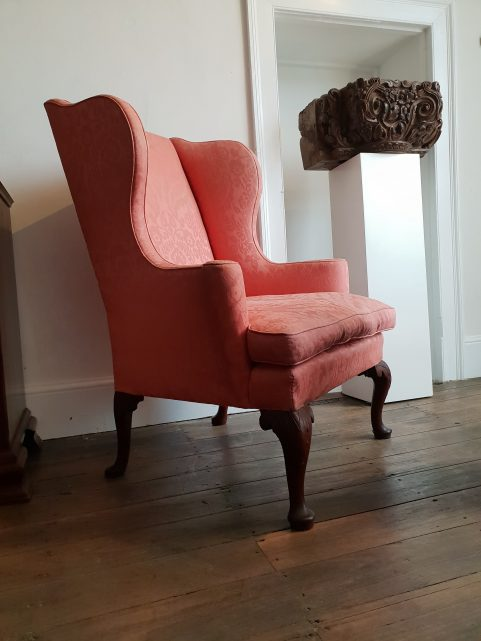 Chippendale wing chair c.1760