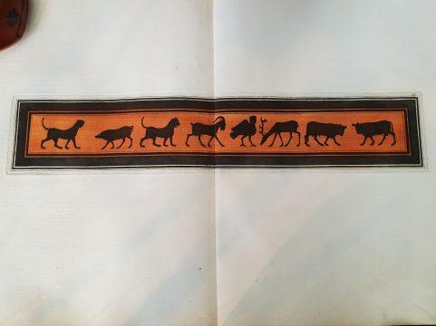 Wild Animals from a Greek vase 1766
