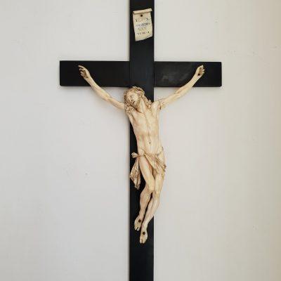 Ivory crucifix c 1650