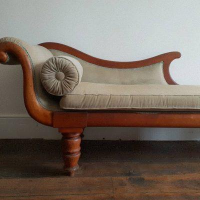 Tasmanian Colonial period cedar Grecian chaise c 1835