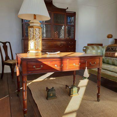 Regency mahogany library table c.1815