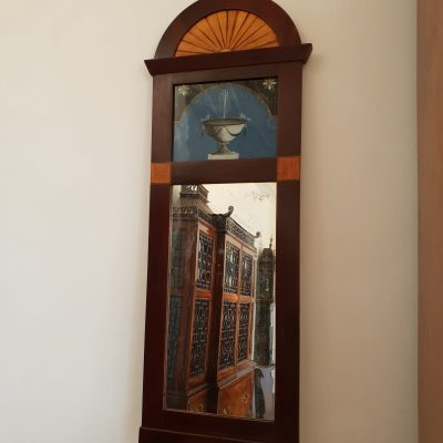 Swedish Empire pier mirror c .1810