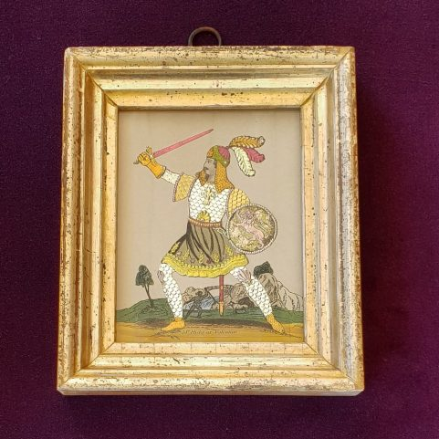 1830s tinsel picture