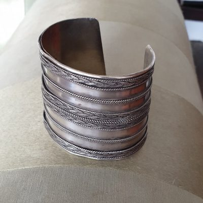 Indian silver bracelet c 1870