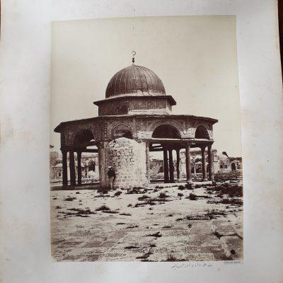 Felix Adrien BONFILS , Temple  of David, India c 1880