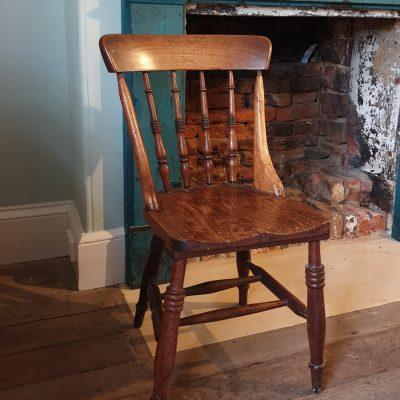 Tasmanian blackwood 'Peddle' chair c 1900