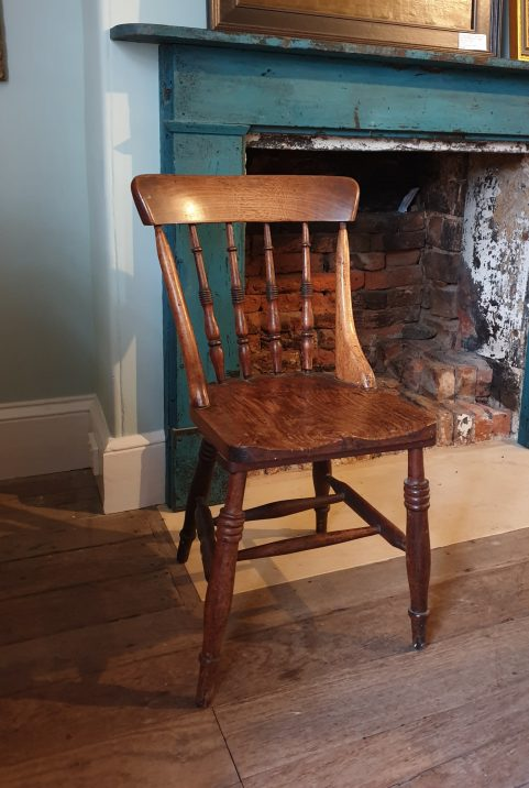 Tasmanian blackwood 'Peddle' chair c 1900