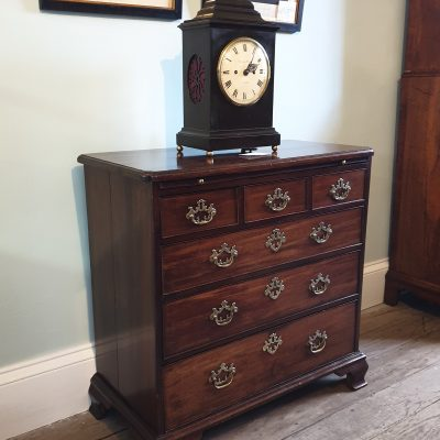 George III mahogany batchelor' chest c 1750