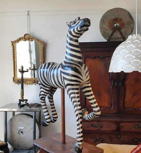 Fairground Zebra c 1880