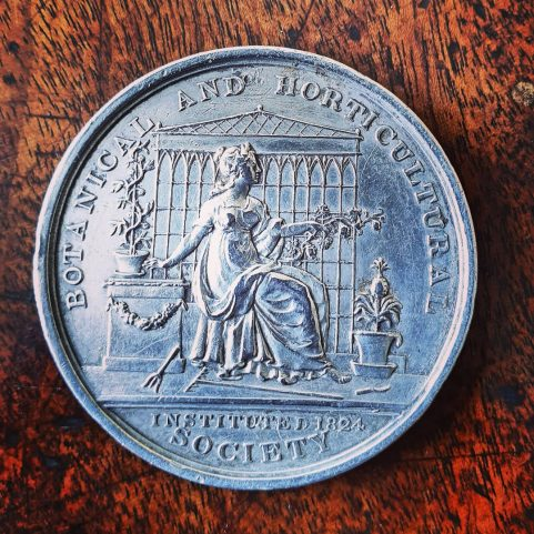 First Superintendant, Hobart Botanic Gardens silver medal 1827