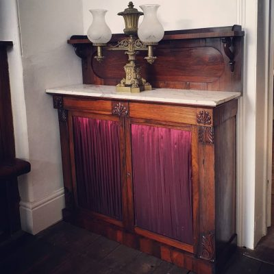 William IV rosewood chiffoniere c 1835