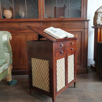 Scottish Regency library cabinet c1810