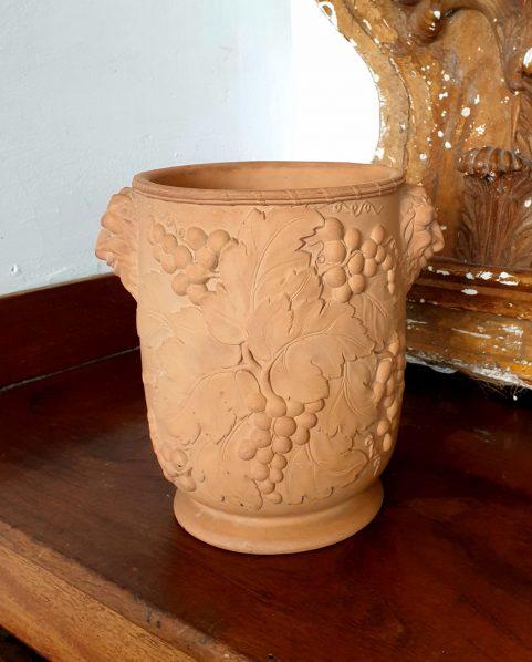 Regency terracotta Bacchic wine cooler  c 1820
