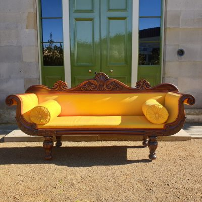 Greek Revival rosewood sofa c 1830