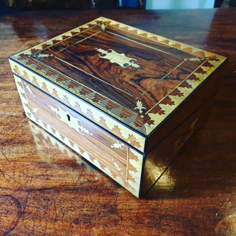 Regency campaign writing box c 1815