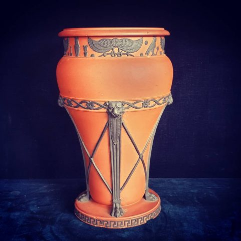 Wedgwood Rosso Antico  vase c 1805