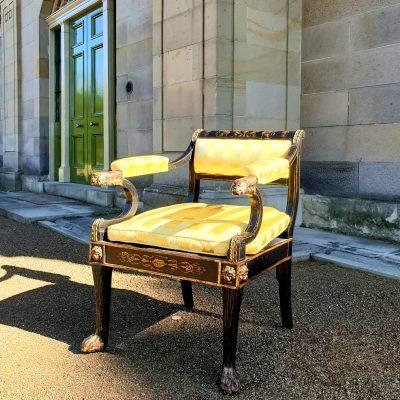 Regency Zoomorphic Armchair c 1805