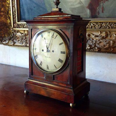 Regency mahogany Bracket clock c 1820