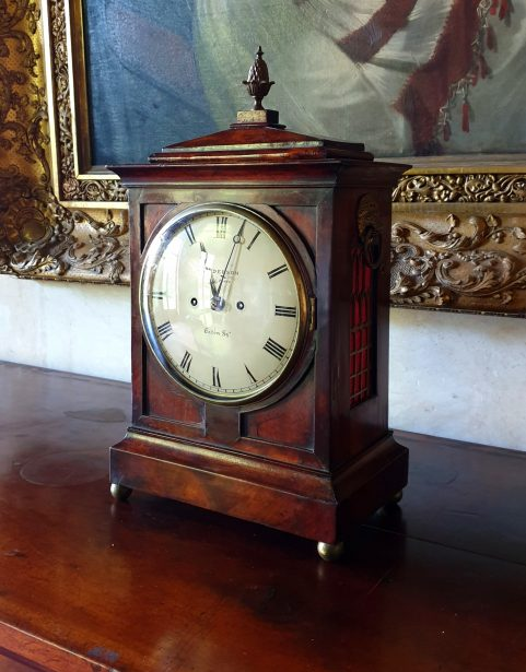 Regency mahogany Bracket clock c 1820