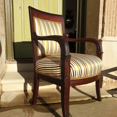French Empire armchair c 1820