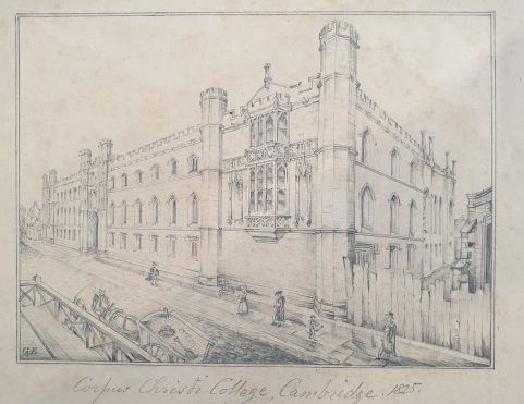 Architectural Drawings by George Edwards 1825