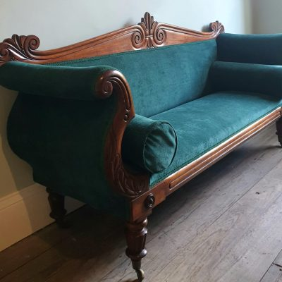 William IV period Grecian sofa c 1830