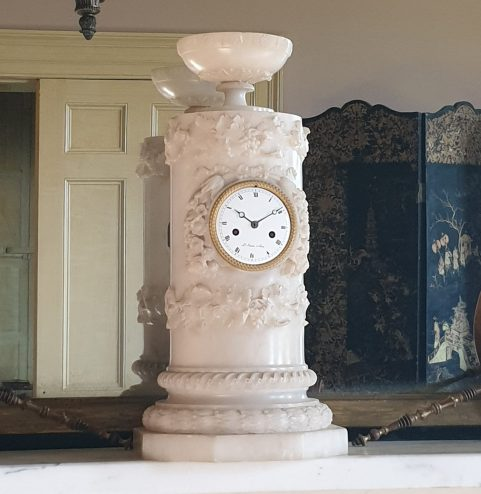 French Empire period vase clock c 1825