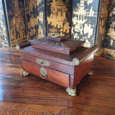 Regency sewing box c 1820