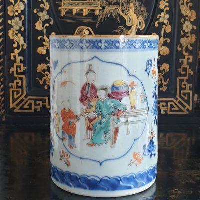 Cantonese porcelain Punch Mug c1800