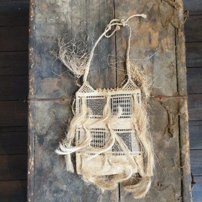 Fijiian Flax Bag c1880