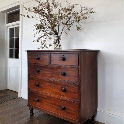 Tasmanian Colonial period cedar Chest of Drawers c1825