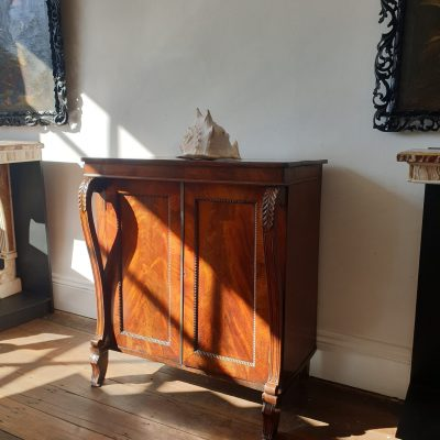 Scottish Regency pier cabinet c 1820