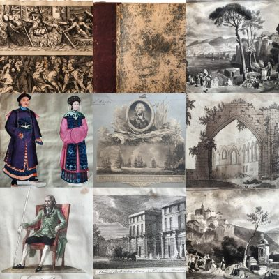 Album of Robin Lloyd Hood c 1840