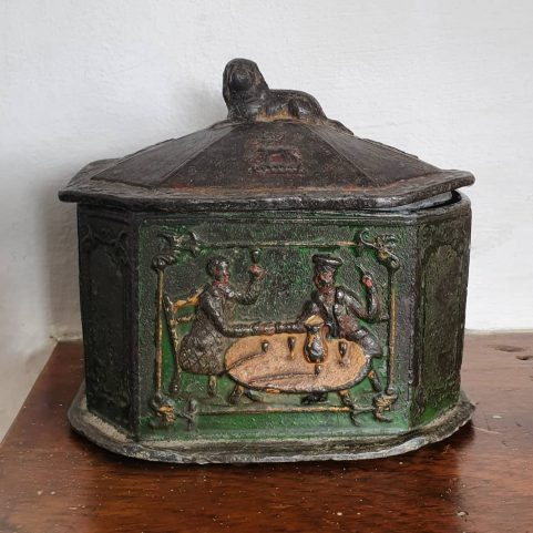 Lead Tobacco Box c 1810
