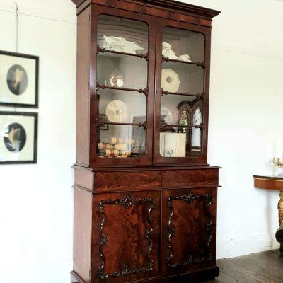 William IV mahogany Library Bookcase c 1835