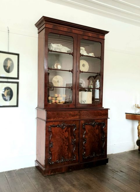 William IV mahogany Library Bookcase c 1835