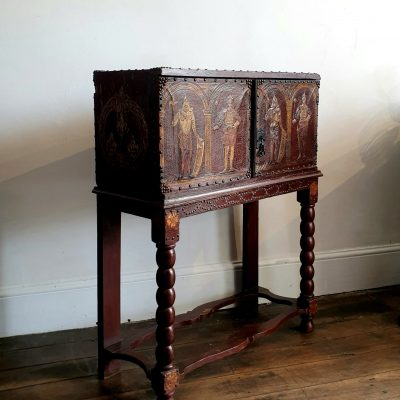 Clan Leslie Cabinet c 1700 and 1830