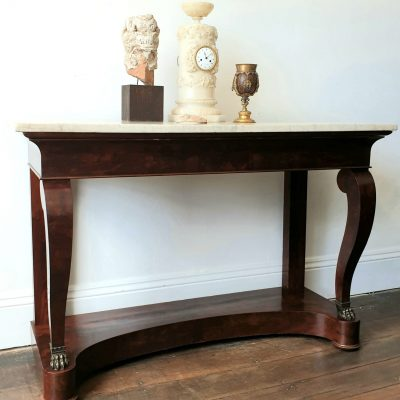 French Empire mahogany Console Table c 1810
