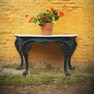 Yates Haywood Cast Iron Console Table 1842