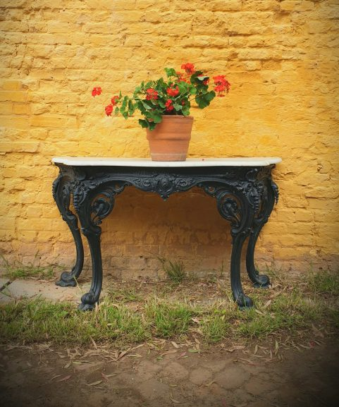 Yates Haywood Cast Iron Console Table 1842