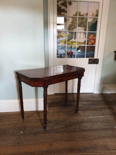 Regency Mahogany Card Table c1815
